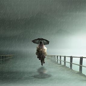 Rain by Eli Supriyatno - Digital Art People