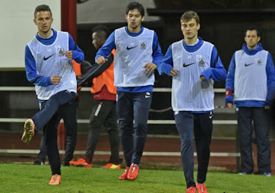 Pieter Gerkens, Tornike Okriashvili én Luka Zarandia moeten opkrassen bij KRC Genk