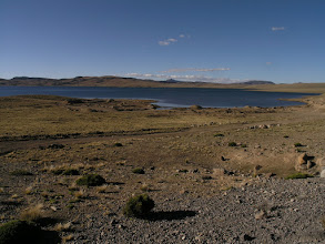 Photo: This lake is over 4000 meters (13000 feet) high.