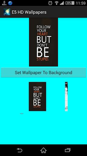 E5 Wallpapers