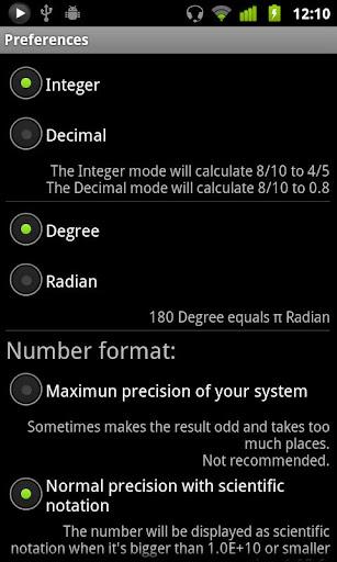 handyCalc screenshot 6