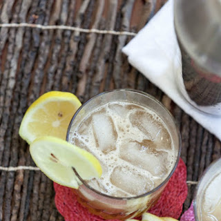 Spiced Whiskey Sour.