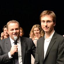 Photo: Premier Prix Grand Prix de la Ville d'Epinal remis par Christophe PETIT adjoint à la culture de la ville d'Epinal