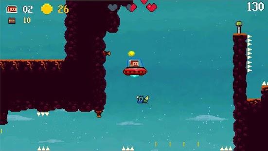 Super Mustache platformer- screenshot thumbnail
