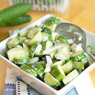 Low Carb Cucumber Salad Recipe