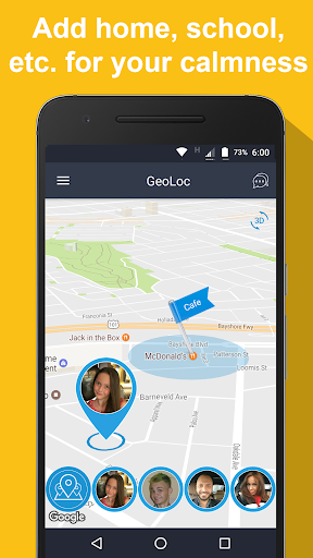 GPS Tracker / Phone Tracker app (apk) free download for Android/PC/Windows screenshot