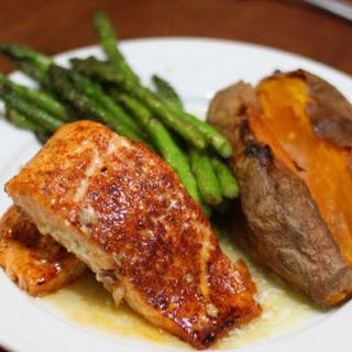 Salmon With Sweet Potato Recipes.