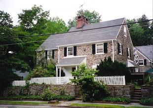 Photo: Chestnut Hill Colonial Revival. It has a very old Pennsylvania farmhouse look to it, though it is part of a group of similar homes.