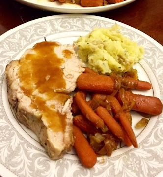 Pork Roast Or Chops With Apricot Pineapple Glaze Recipe