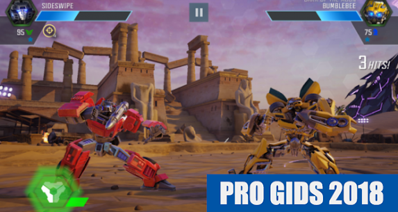 Gids TRANSFORMERS Forged to Fight 2018 FREE 9