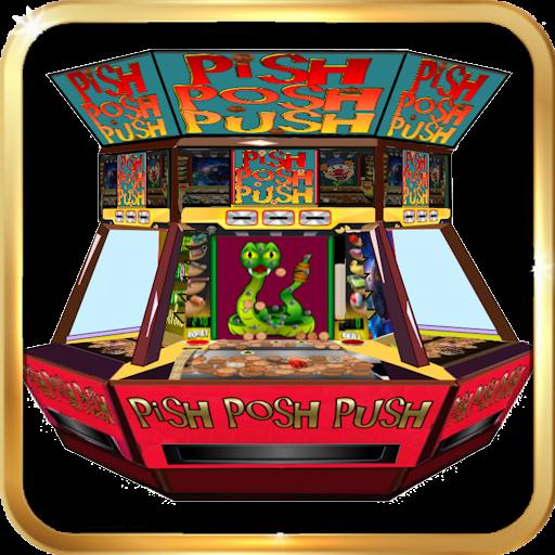 Pish Posh Penny Pusher