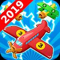 Idle Plane 3D - Plane Mergers icon
