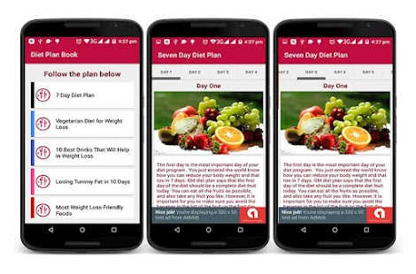 Diet plan book android apps on google play for Plan book app