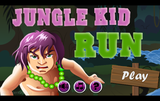 Jungle Kid Run Adventure Free