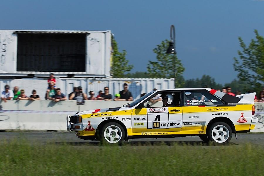 Motorsport, rally show,  by Pavel Vrba - Sports & Fitness Motorsports ( motorsport, cars, race, rally show, rallye )