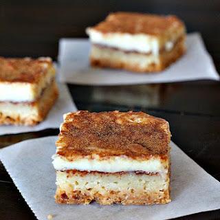 Churros Cheesecake Bars