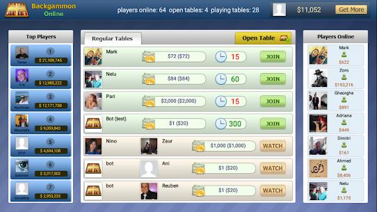 Backgammon Online – Free Board Game 6