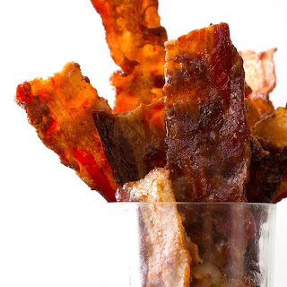 Coconut Nectar Candied Bacon.