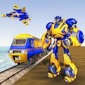Euro Train Robot Transform icon