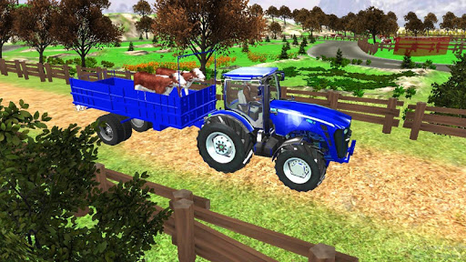 Village Tractor Games:Chained Tractor Offroad Game 1.00.0000 screenshots 1