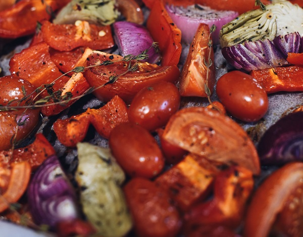 roasted vegetables air fryer