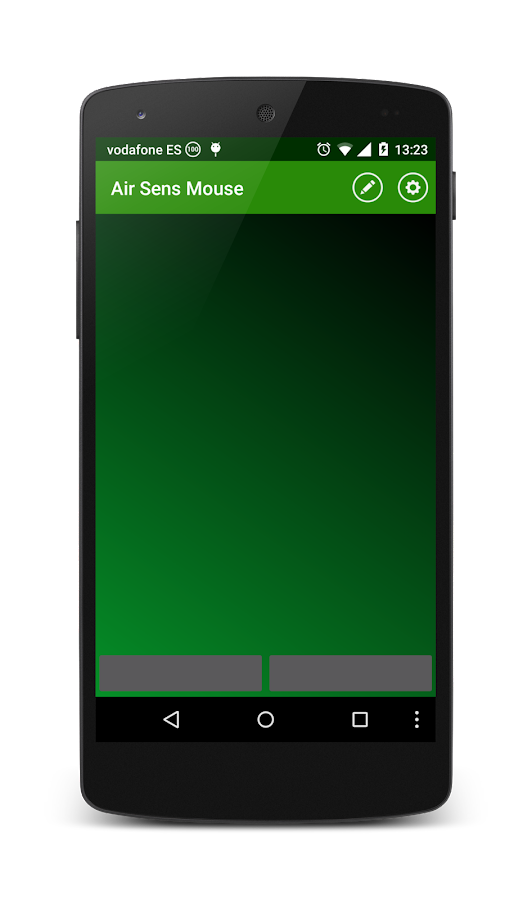 Air Sens Mouse (WiFi)- screenshot