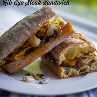 Rib Eye Steak Sandwich