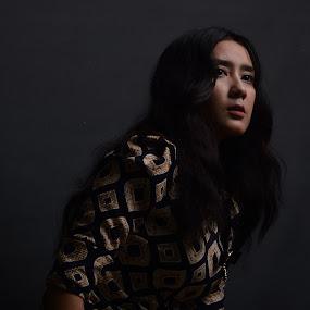 who you're by Yosep Atmaja - People Portraits of Women