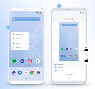hyperion launcher 70 Mod Apk attractive and full-featured launcher for Android + MOD 2