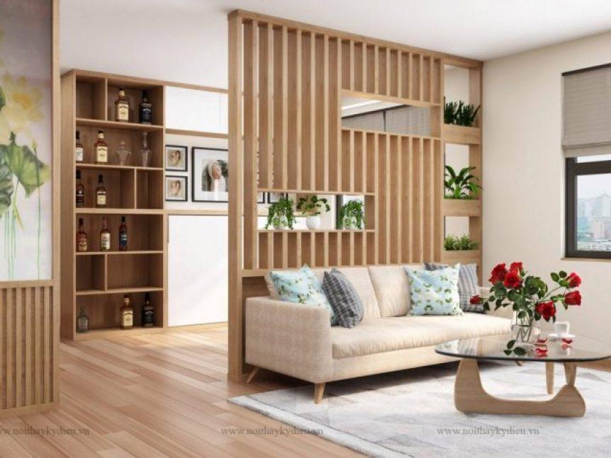 Không gian sang trọng với nội thất thông minh