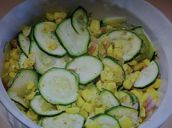 Fresh Corn Zucchini Relish Recipe