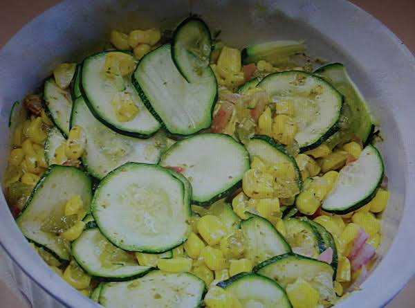 Fresh Corn Zucchini Relish Recipe