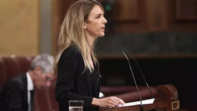 La portavoz del Grupo Popular en el Congreso de los Diputados, Cayetana Álvarez de Toledo-