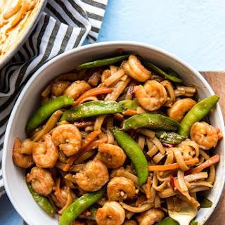 Better Than Take-Out Shrimp & Noodles Recipe