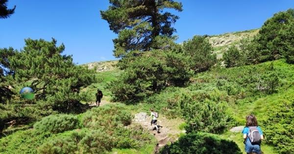 Subida al Pico del Nevero desde Las Lagunillas