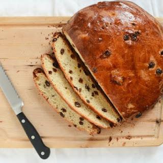 Julekake (Norwegian Christmas Bread).