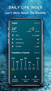Download Weather Pro - The Most Accurate Weather App For PC Windows and Mac apk screenshot 7