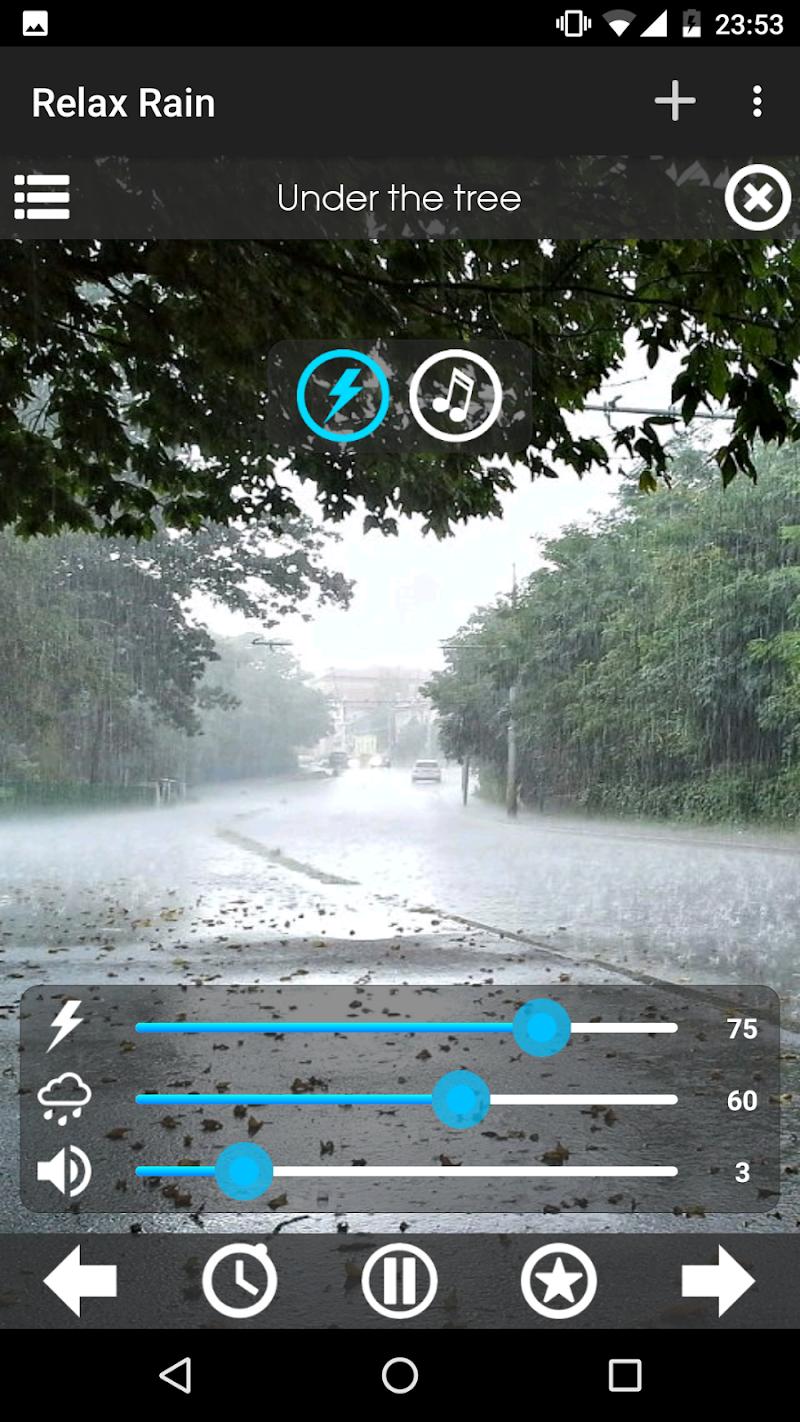 Relax Rain ~ Rain Sounds Screenshot 4
