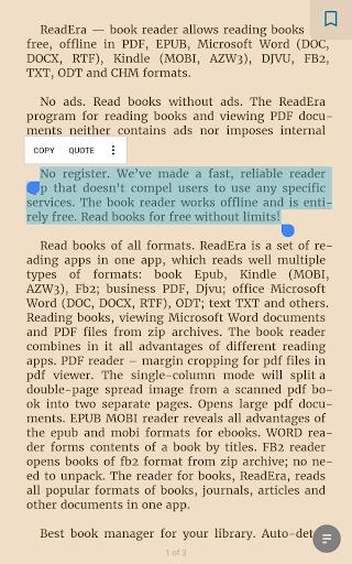 ReadEra - book reader pdf, epub, word screenshot 19