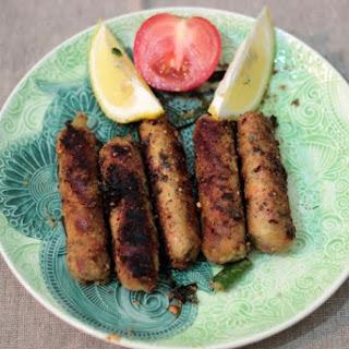 Vegetarian Sausage Satay