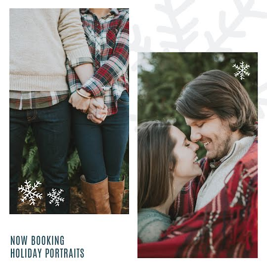 Holiday Portraits - Christmas Template