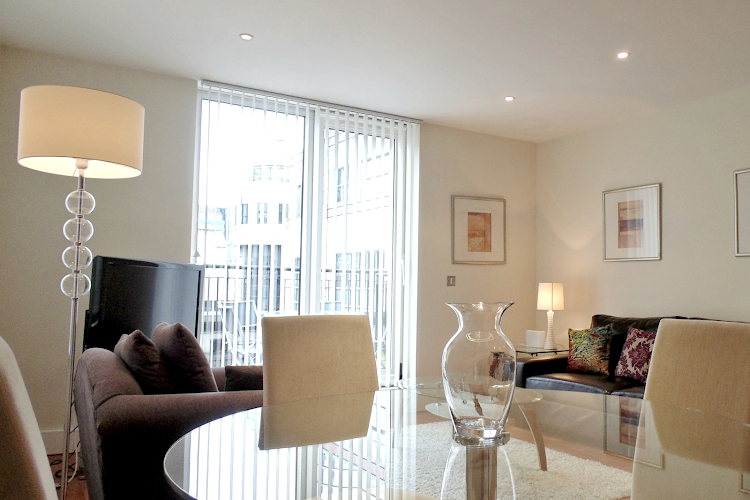 living space at Tower Hill Executive