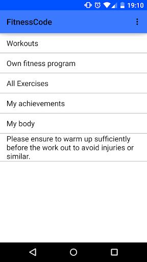 FitnessCode - The Fitnessapp