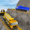 Construction Crane Hill Driver: Cement Truck Games icon