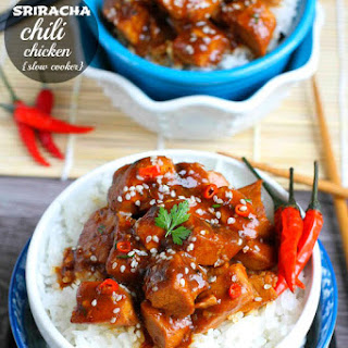 {Slow Cooker} Sriracha Chili Chicken