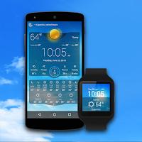 Screenshot of Weather Live
