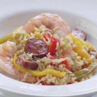 Express Shrimp & Sausage Jambalaya.