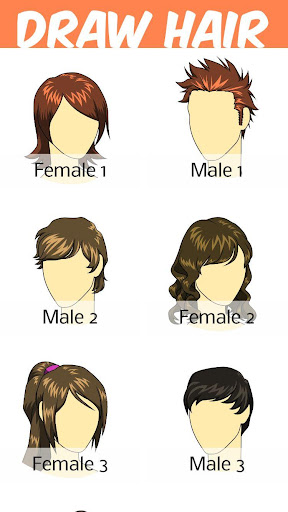 How to Draw Hair Styles