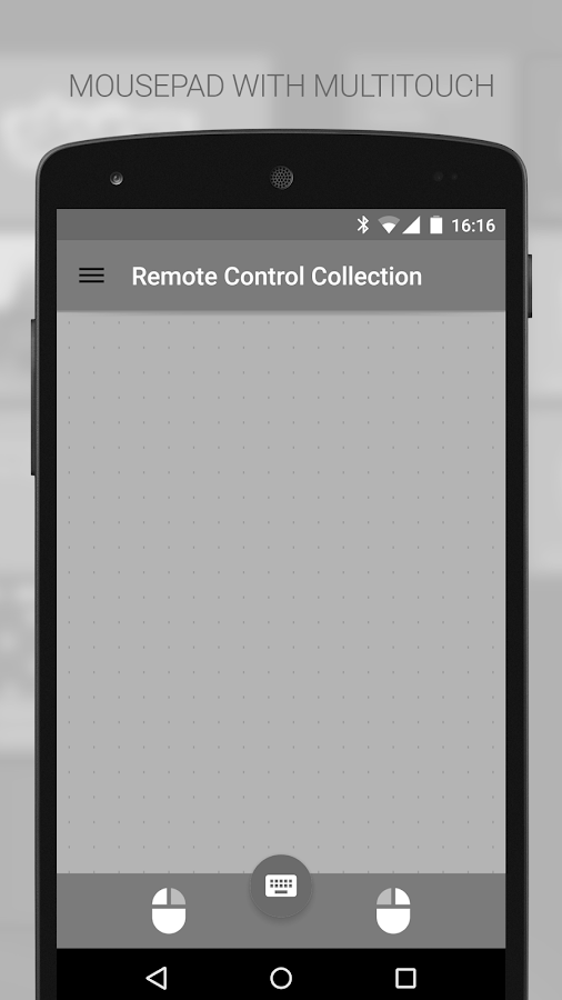 Mouse & Keyboard Remote- screenshot