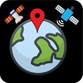 Earth Map Satellite & GPS voice navigation